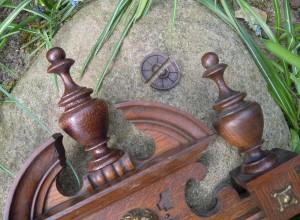 Uhrteile für Gründerzeitregulator