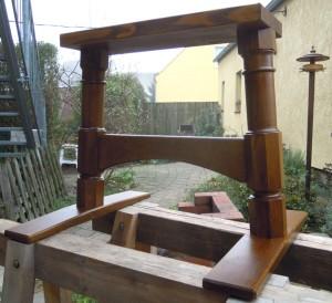 Tischgestell aus Eichenholz
