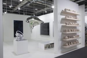 Drechslerarbeiten auf der Art Basel 2015