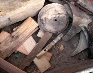 Brennholz aus der Drechslerproduktion