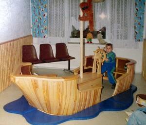 Spielboot Drechslerprodukte