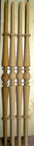 Handgefertigte Treppenstäbe 3