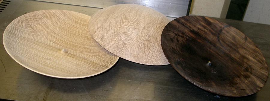 Holzschale von Lüder Baier mit Nachbauten