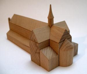 Kirchen Bausatz Lehnin
